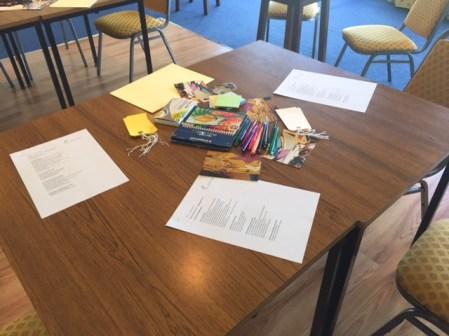 A workshop at Mind in Worksop