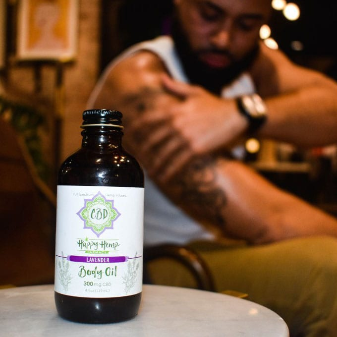CBD Massage Oil Lavender