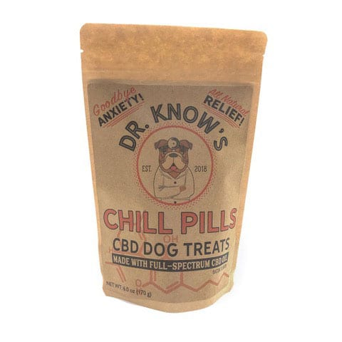 Chill Pills CBD Dog Treats