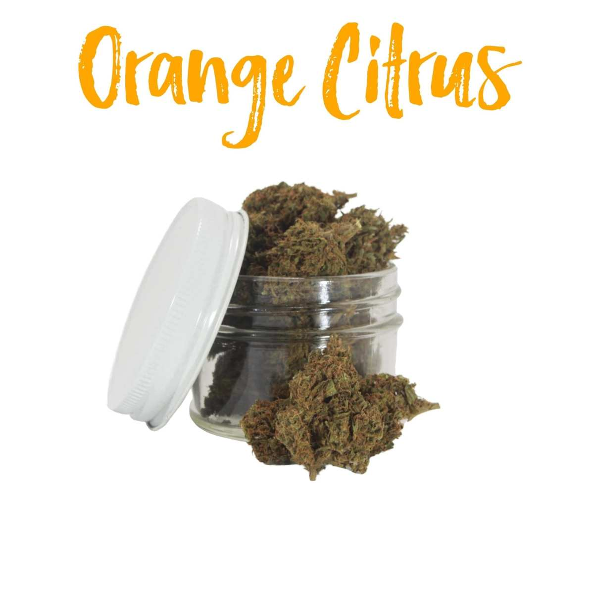 Orange Citrus Hemp Flower