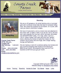 Coyote Creek Farms Happy Herd Farm Sanctuary 3