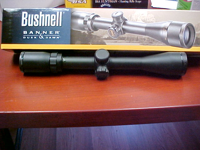 Bushnell Rifle Scope