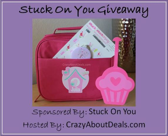 Stuck on you giveaway