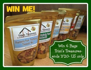 Trixi's Treasure Chex Mix Giveaway