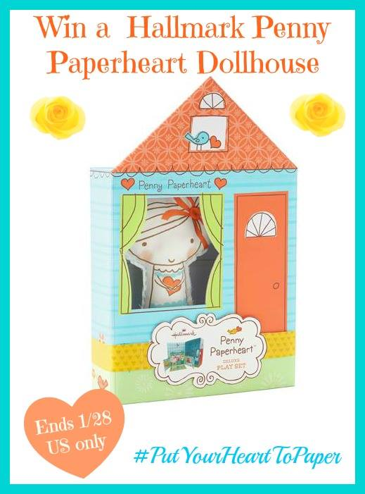 Hallmark Penny Paperheart Dollhouse Giveaway