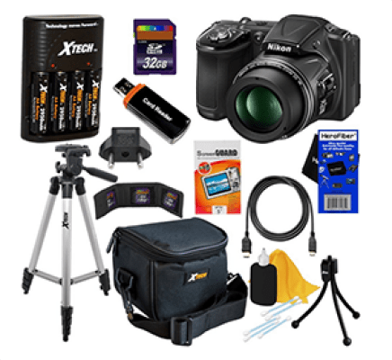 Nikon CoolPix L830 Digital Camera Kit Sweepstakes