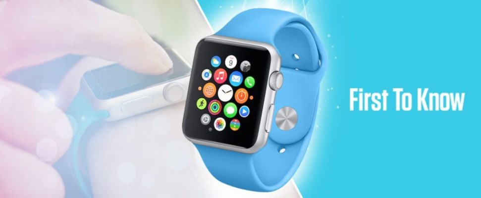 First To Know - Win an Apple Watch