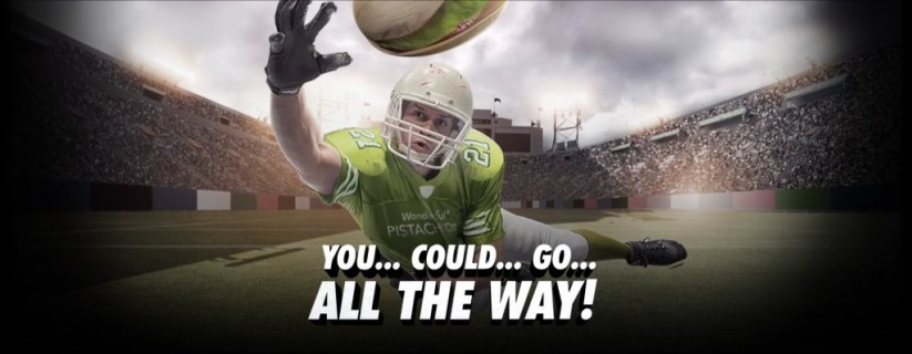 Wonderful Pistachios Crack the End Zone Instant Win Game and Sweepstakes
