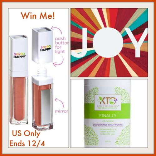 Starbucks $10 Gift Card and Kelly Teegarden Products Prize Pack Giveaway