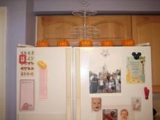 Fall Decorating – Pumpkins On the Fridge