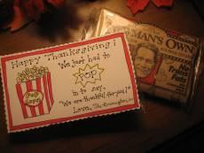 Thanksgiving Popcorn Tags – Free Printable!