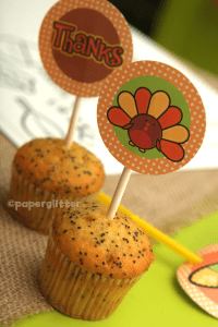 Free Thanksgiving/Fall Printable Kit!