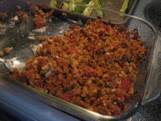 Recipe – Bruschetta Chicken Bake