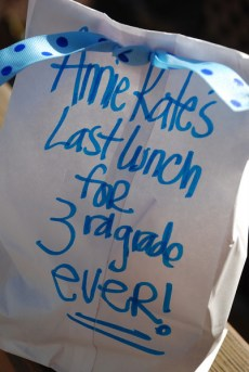 Last Day of School Lunch Bag