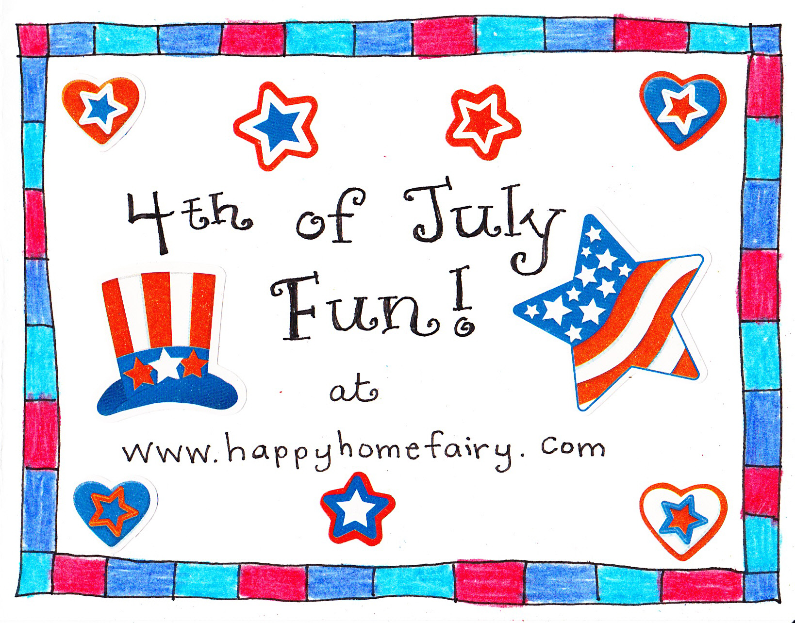 4th Of July Conversation Starter And Joke Cards