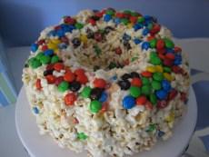 Recipe – Popcorn Cake