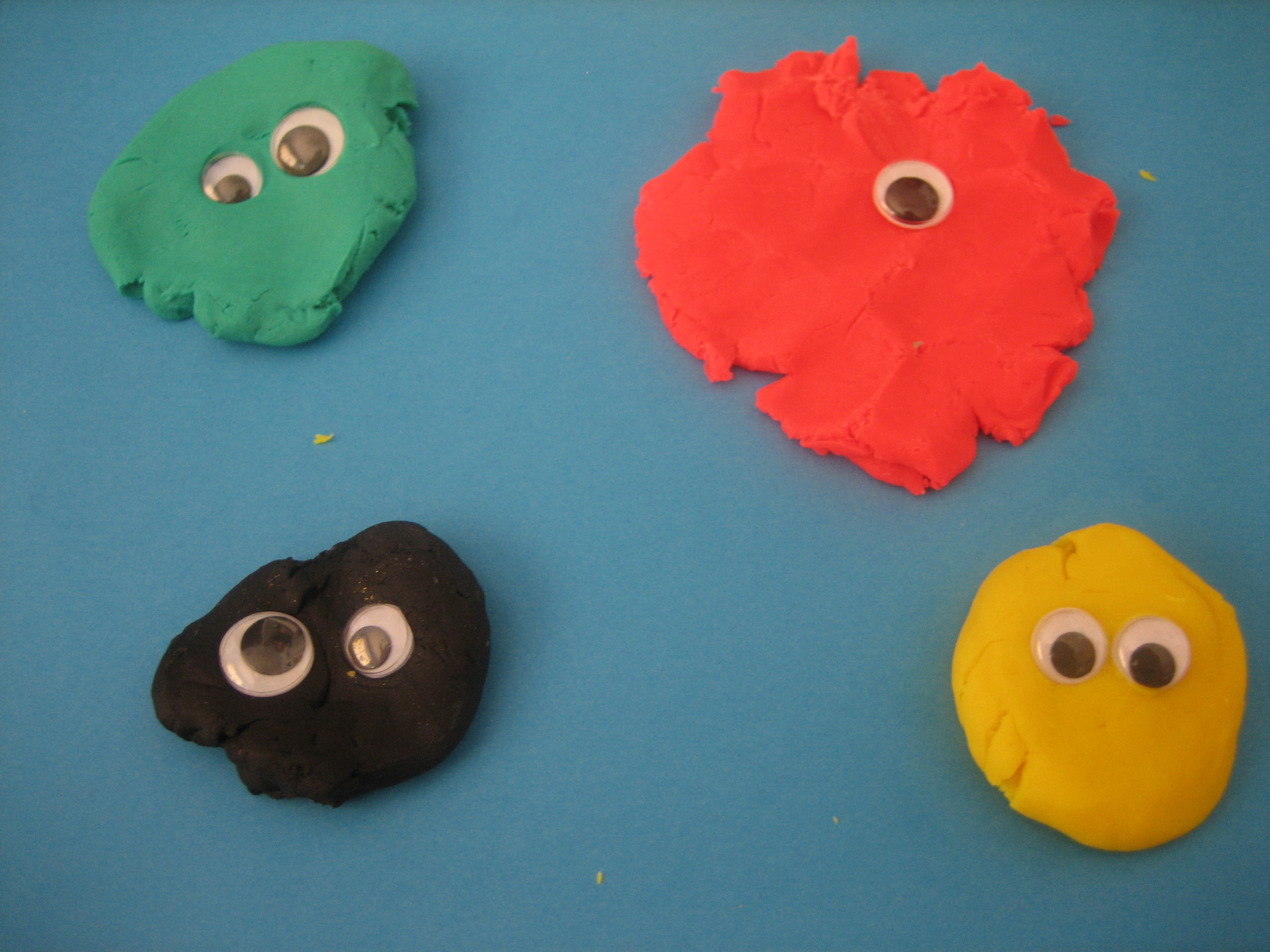 Play Dough Monsters Happy Home Fairy