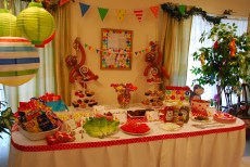 The Happy Buddy's Monkey Birthday Party