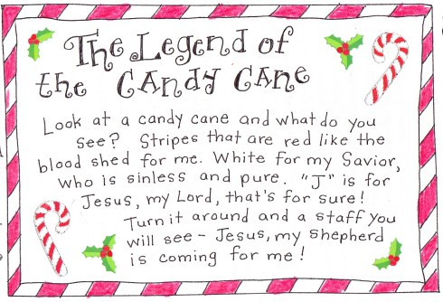 The Legend of the Candy Cane  FREE Printable  Happy Home Fairy