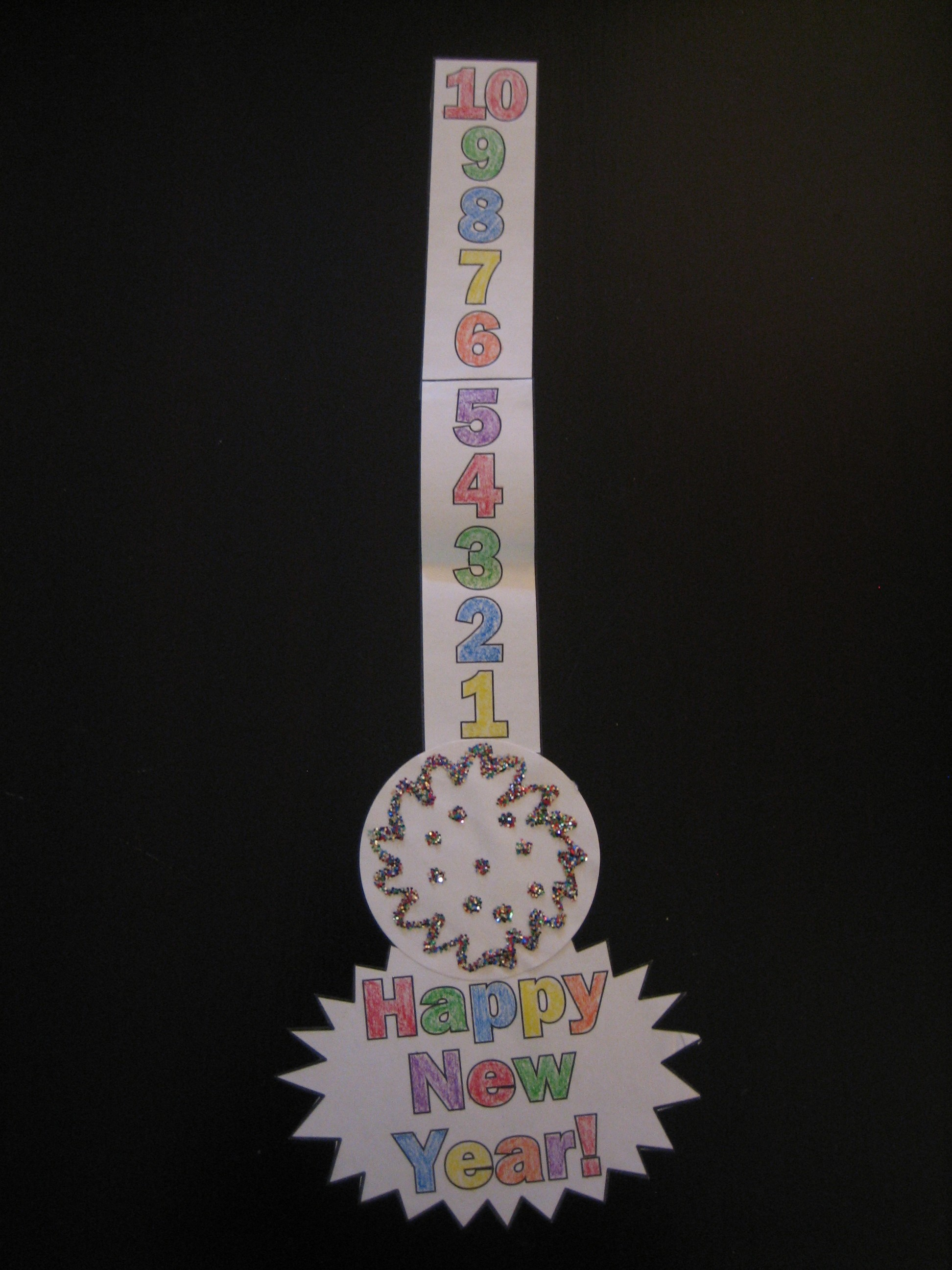 New Year S Eve Craft