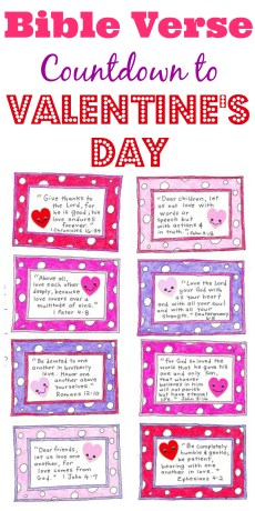 A Valentine's Day Countdown – FREE Printable!
