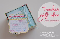 End of School Year Gift Ideas – Part 1