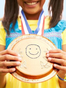 Easy Olympic Crafts