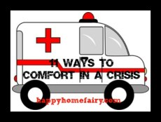 11 Ways to Comfort in a Crisis – #6 & #7: Money and Dreams Come True