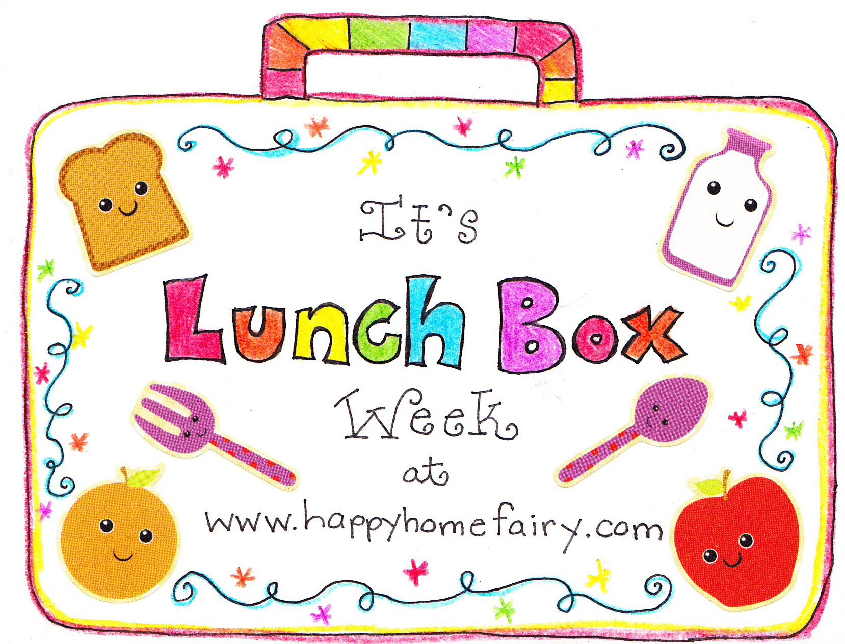 Making Lunch Boxes Fun - Gift Wrap - Happy Home Fairy