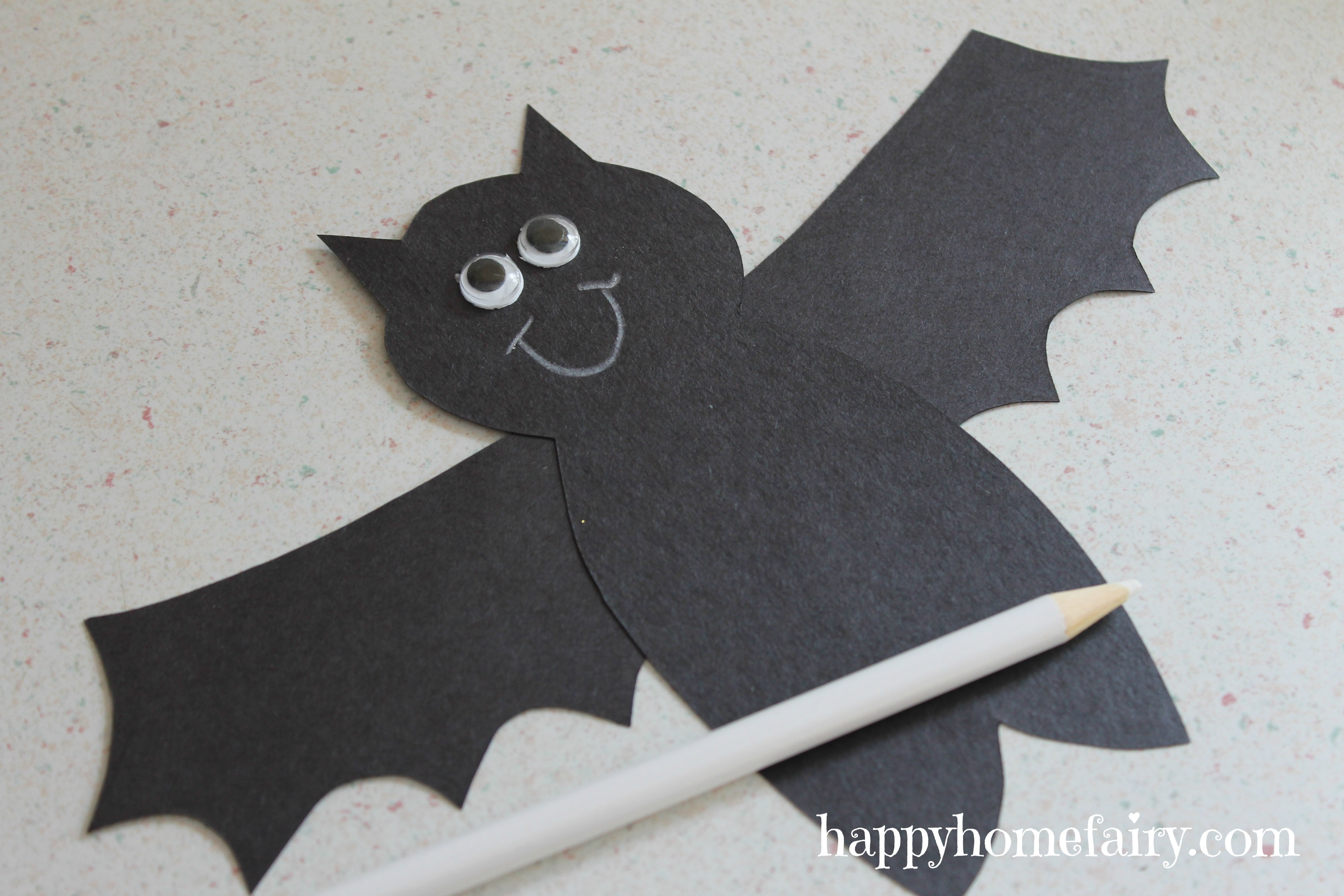 Easy Bat Craft Happy Home Fairy