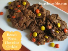 Recipe – Reese's Pieces Chocolate Cookies