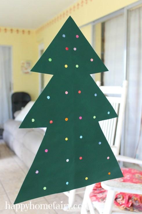 tree craft at happyhomefairy.com