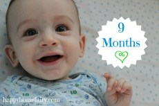 9 Months and My New Year's Resolutions