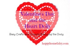 Valentine's Day and the Heart Doily