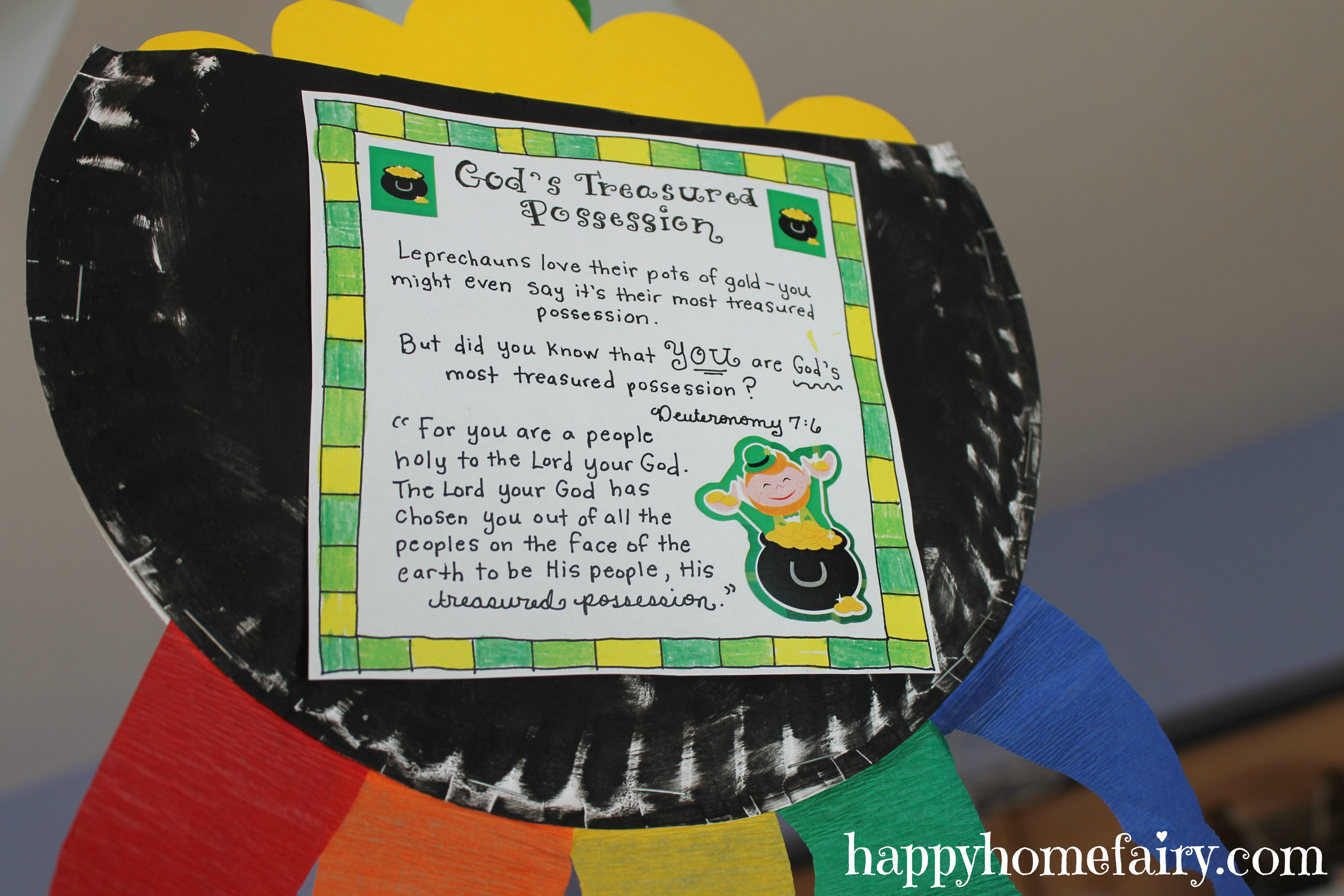 An Inspirational St Patricks Day Windsock Happy Home Fairy
