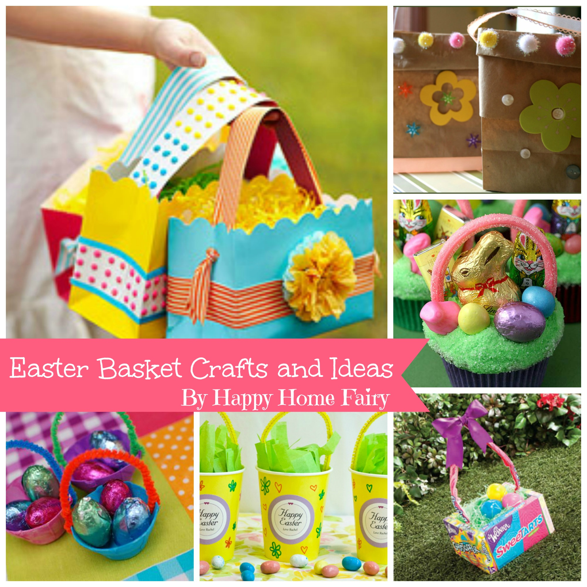Easter Basket Craft Ideas Happy Home Fairy