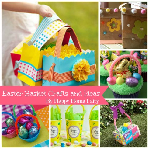 Easter basket craft ideas happy home fairy - Easter basket craft ideas ...