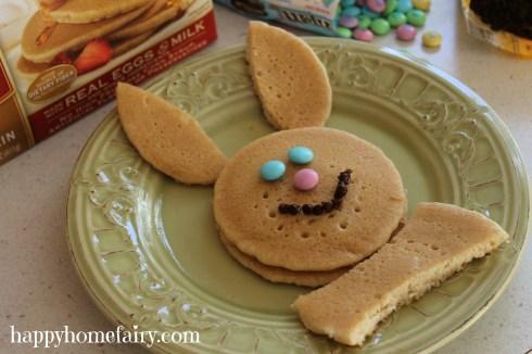 bunny pancakes step 4