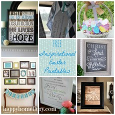 FREE Inspirational Printables for Easter