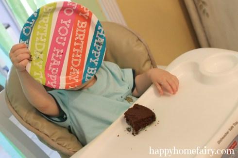 bday party cake drop