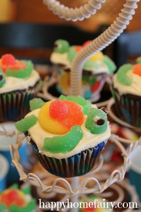 bday party cupcake