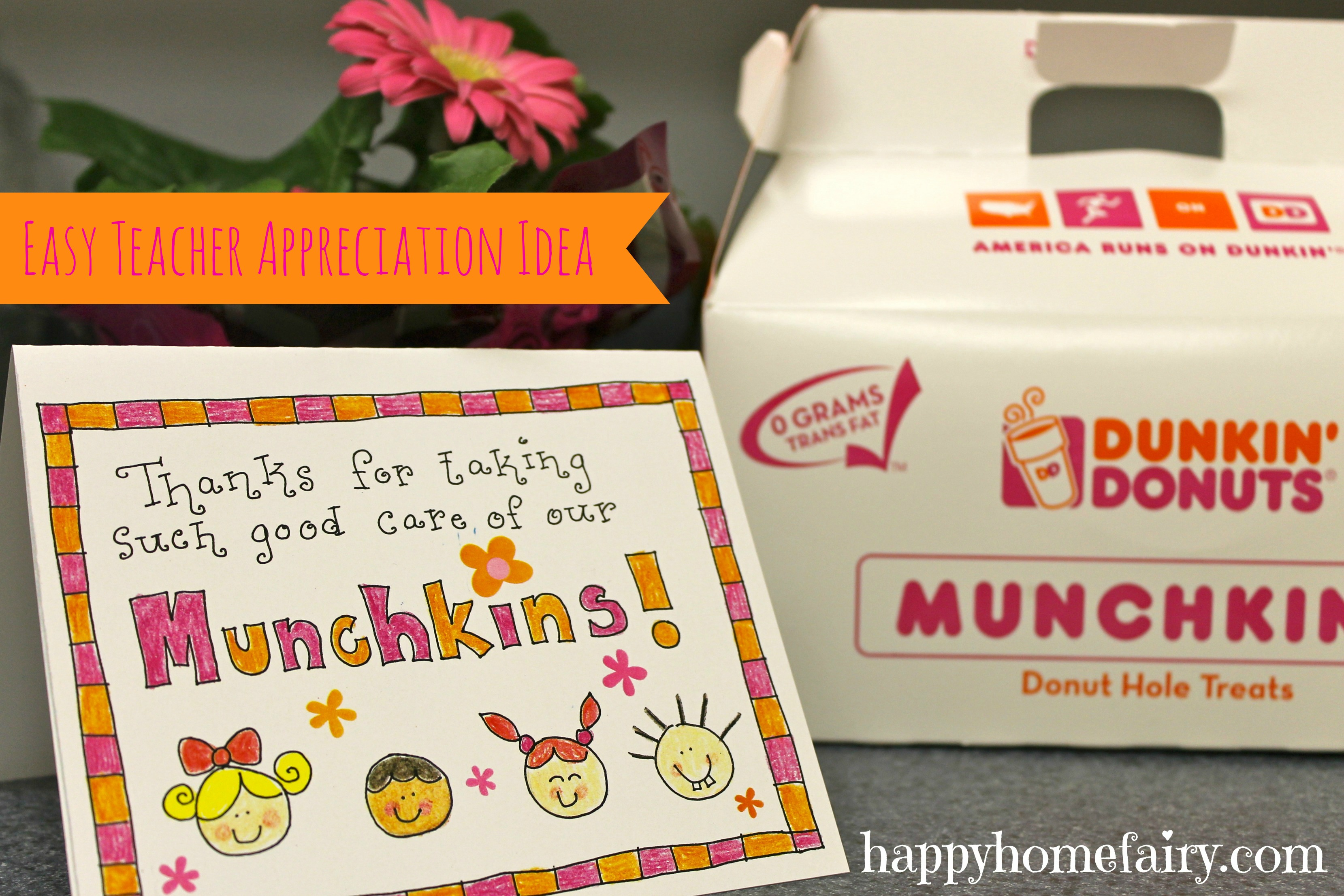This is an image of Donut Teacher Appreciation Printable in printout