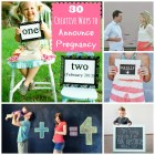 30 Creative Ways to Announce Pregnancy at happyhomefairy.com - this is THE BEST collection of ideas!