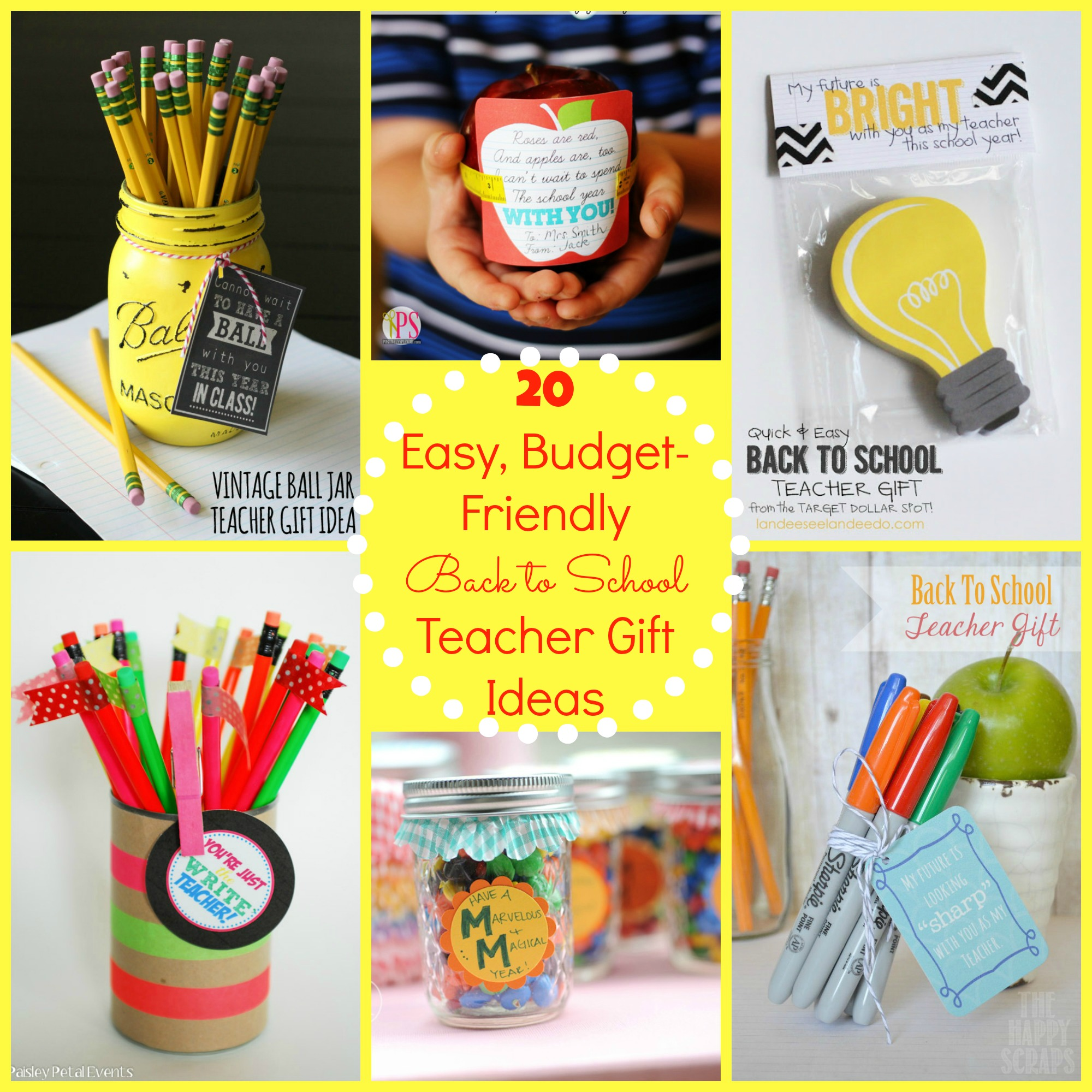 Diy Gift Idea Day Teacher Home Art Decor