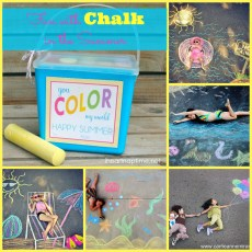 Summer Chalk Photo Ideas