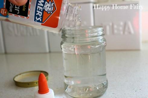 calm down glitter jar step 1