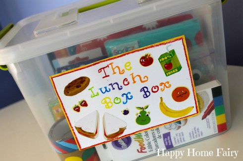 the lunch box FUN box