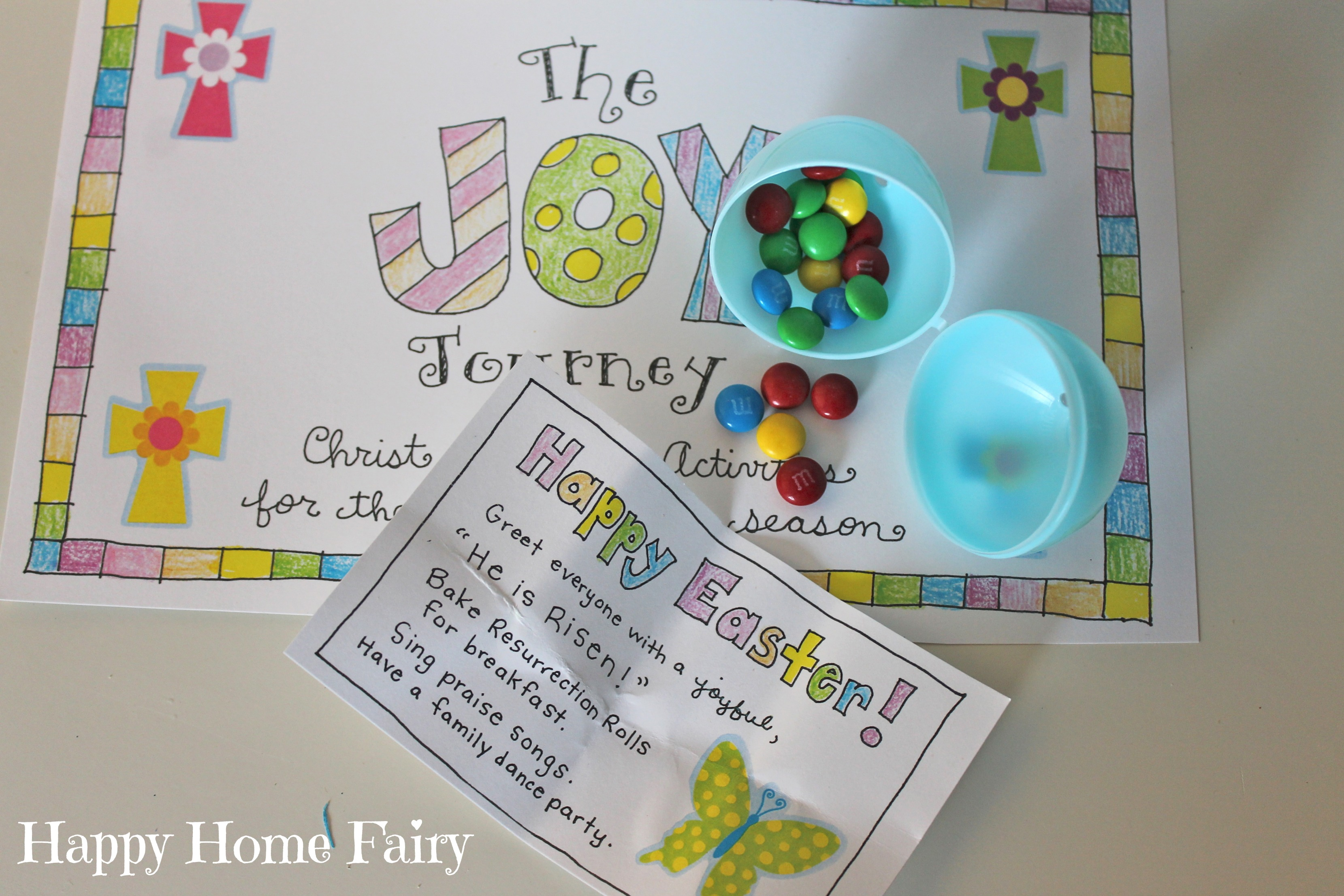 The Joy Journey - Christ-Centered Easter Activities (FREE Printable ...