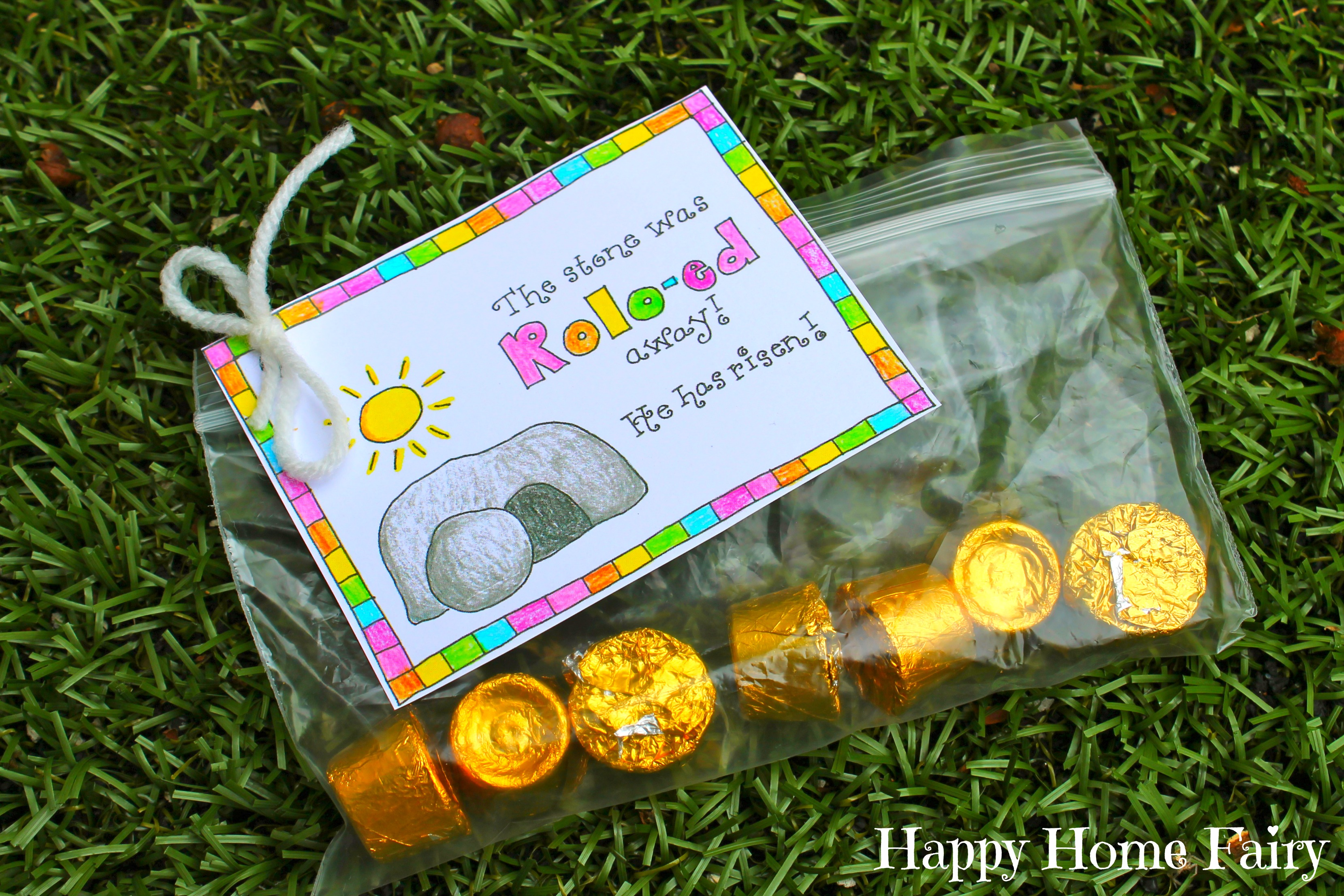 free printable easter treat tag   happy home fairy