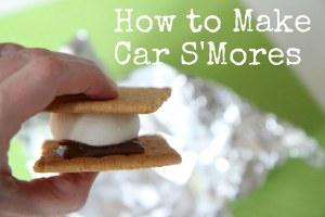 car s'mores